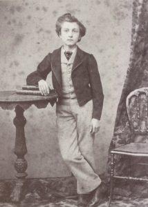 Pierre Loti, à 13 ou 14 ans